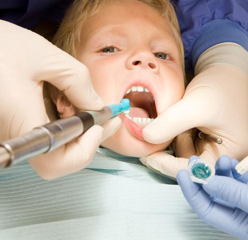 Child Boy Dentist Teeth Cleaning